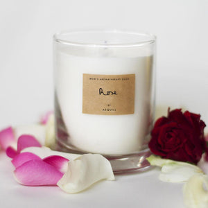 Rose Scented Candle UK
