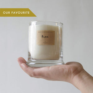 Best Scented Candle Rose Blend Essential