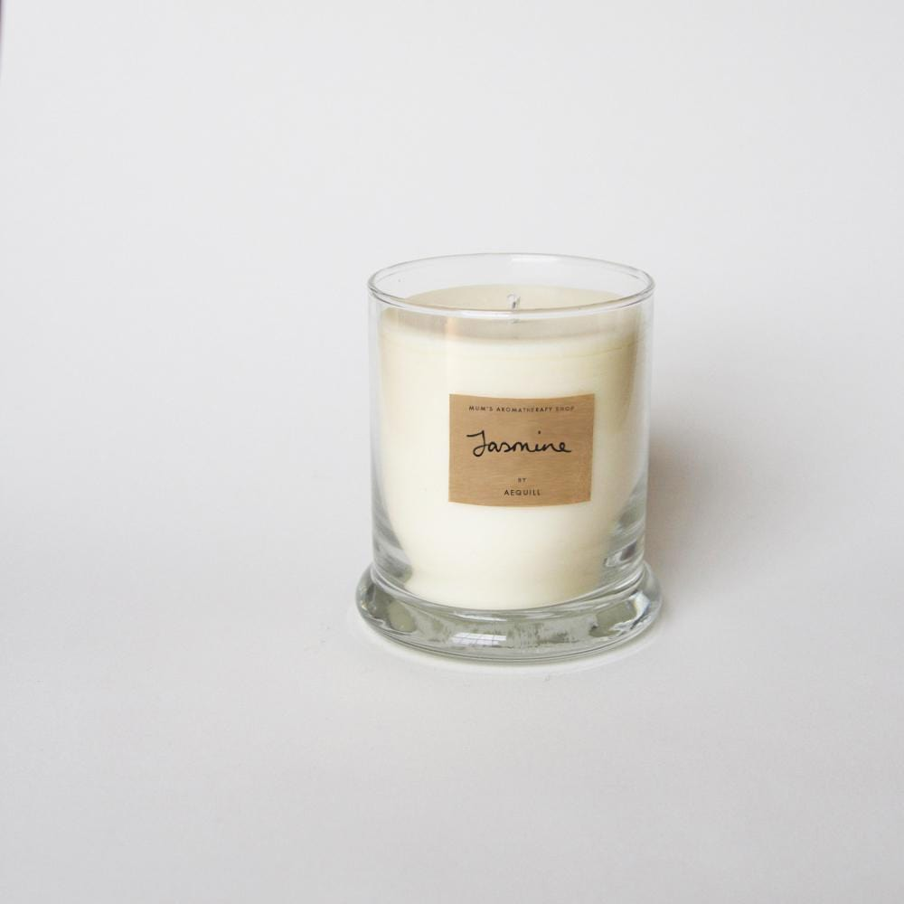 Scented Candle With Jasmine Absolute Oil