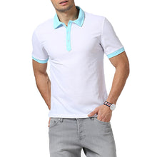 Load image into Gallery viewer, Men Short Sleeved Polo Shirt
