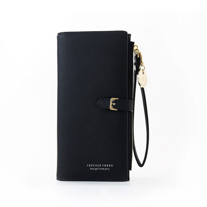 Multi Pockets Long Wallet Clutch for Women