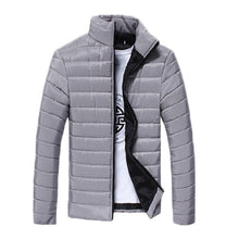Load image into Gallery viewer, Fall-Men's Jackets Long Sleeve Cotton-padded Coat