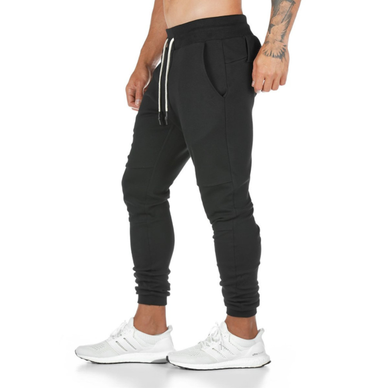 Men's Solid Color Casual Gyms Fitness Sweatpants