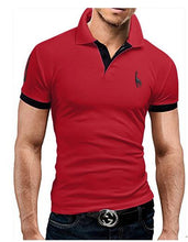 Load image into Gallery viewer, Men's Polo Short Sleeve Fashion Casual Slim T-Shirt