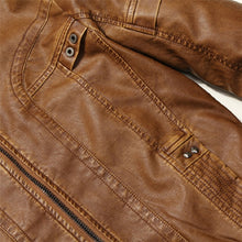 Load image into Gallery viewer, Mountain Fur Men's Casual Leather Jacket