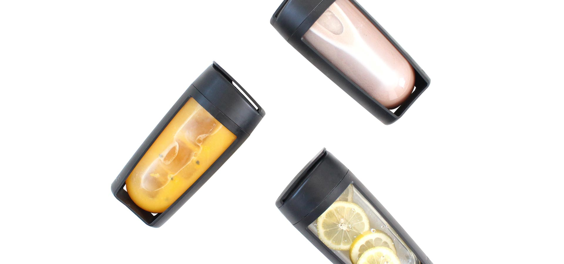 the mous fitness bottle so many uses water infuser shaker bottle and smoothie bottle
