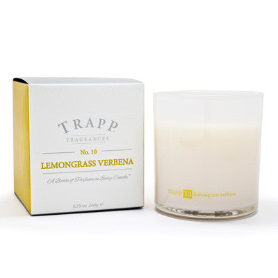 Trapp Candles No.10 Lemongrass Verbena