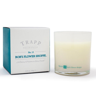 Trapp Candles No.13 Bob's Flower Shoppe