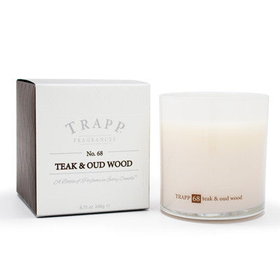 Trapp Candles No.68 Teak & Oud Wood