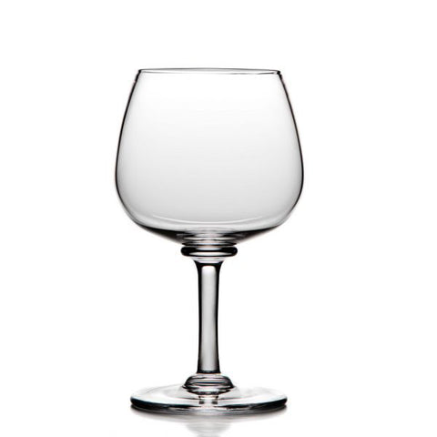 Simon Pearce Woodstock balloon red wine glass