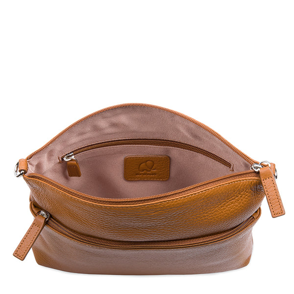 Mywalit Cremona rounded top crossbody