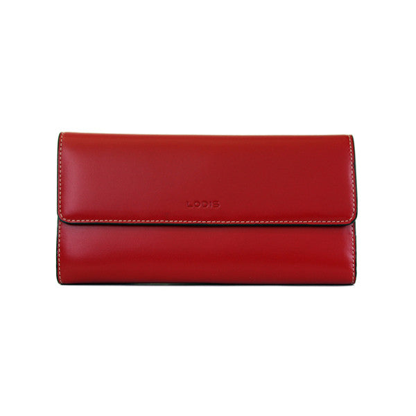 Lodis Audrey classic clutch checkbook wallet - RFID safe