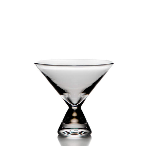 Simon Pearce Westport martini glass