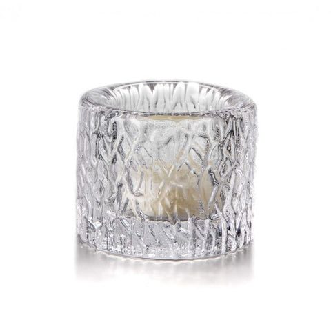 Simon Pearce Silver Lake tealight holder