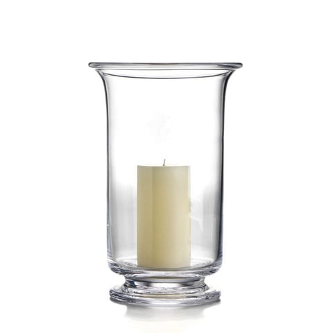 Simon Pearce Revere hurricane candle holders