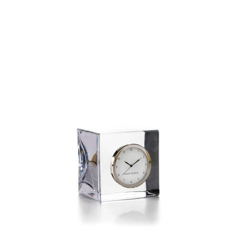 Simon Pearce Woodbury desk clock