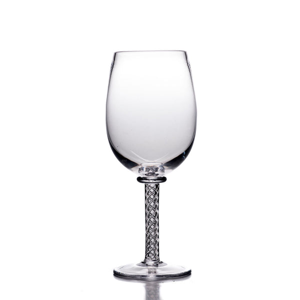 Simon Pearce Stratton red wine glass