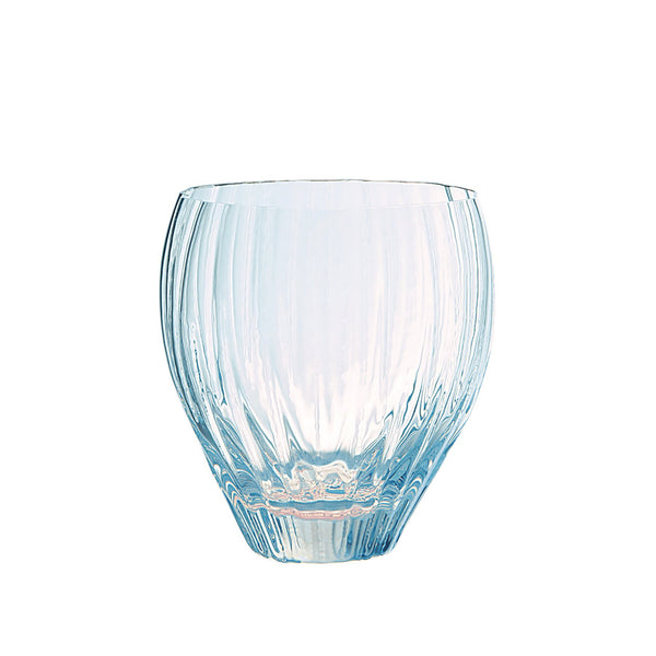 Sugahara ribbed Coco glass, opal