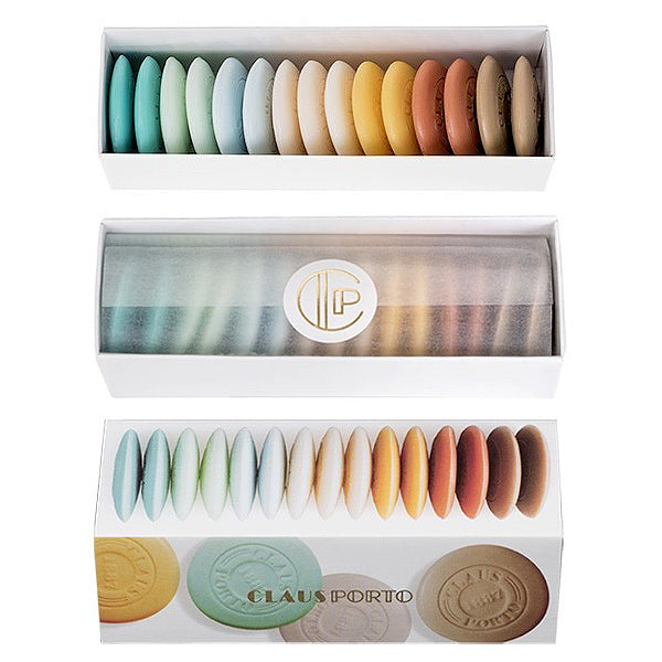 Claus Porto guest soaps, box of 15