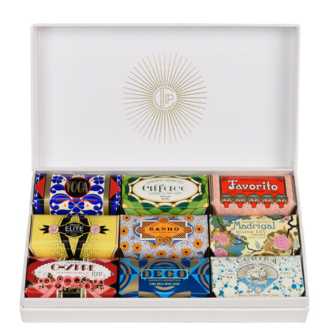 Claus Porto gift box of 9 soaps