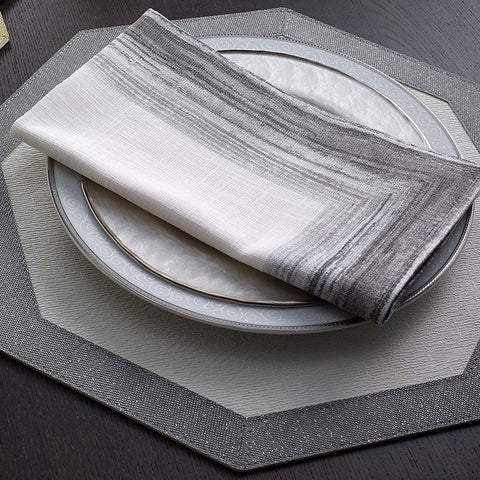 Bodrum Cornice cotton print napkins, set of 4