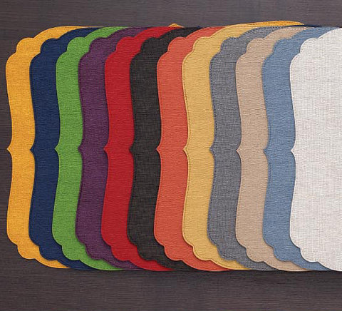 Bodrum Curly vinyl easy-care placemats