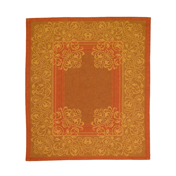 Bodrum Palazzo Gold cotton dish towels, set of 2