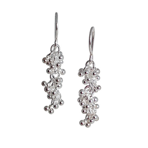 Signature granulation earrings
