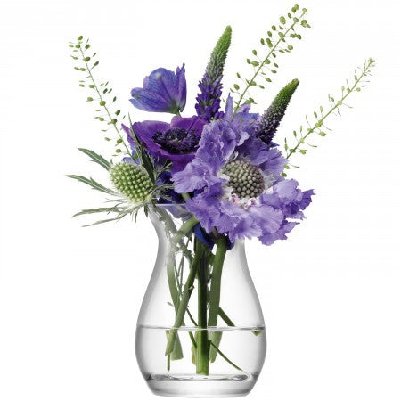 Glass posy vases