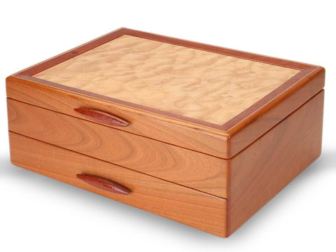 Heartwood Cascade I handcrafted jewelry box