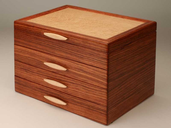 Heartwood Cascade II handcrafted jewelry box