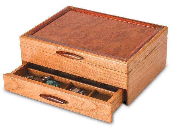 Heartwood Prairie I handcrafted jewelry box