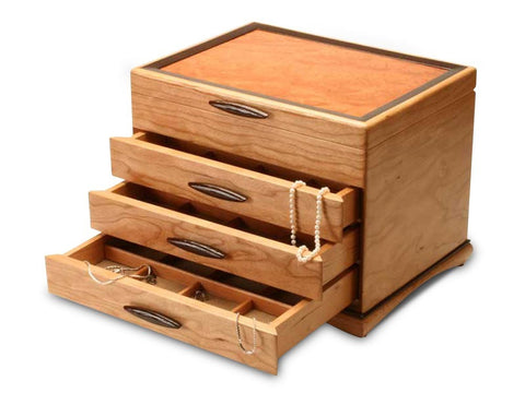 Heartwood Teton handcrafted jewelry box