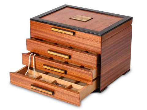 Heartwood Urban Craftsman handcrafted jewelry box
