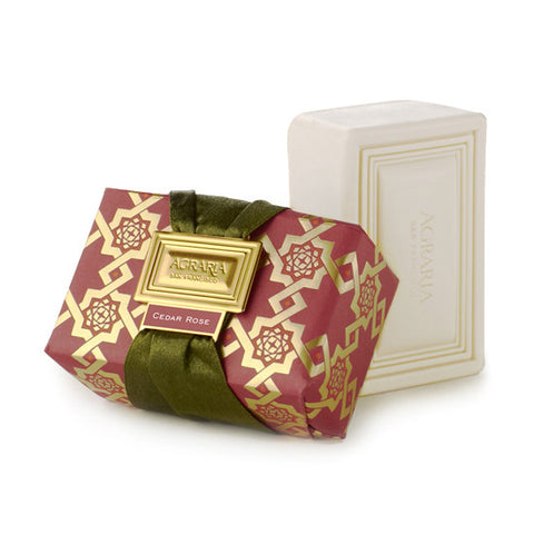 Agraria luxury bath bar - Cedar Rose