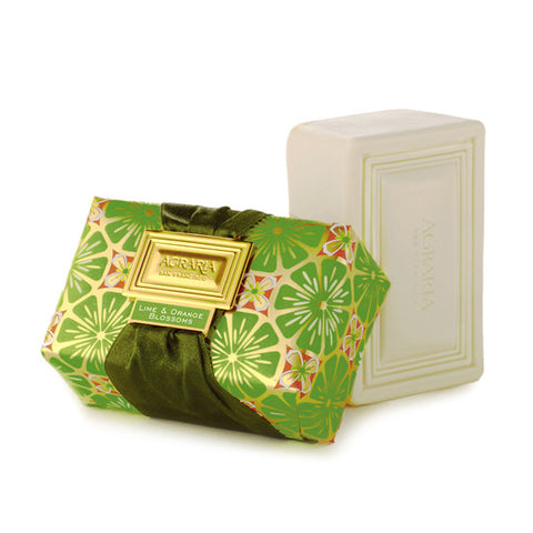 Agraria luxury bath bar - Lime & Orange Blossoms