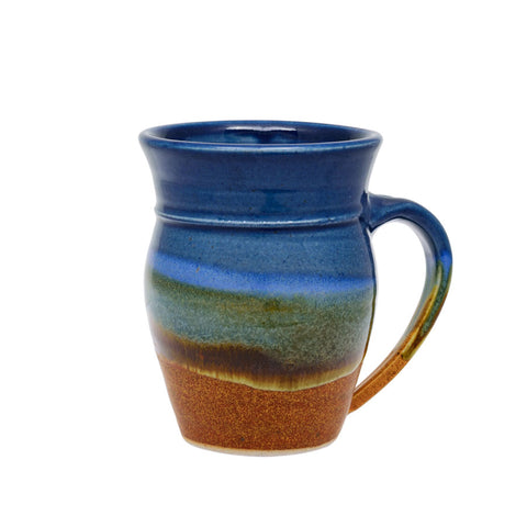 Sunset Canyon round mug