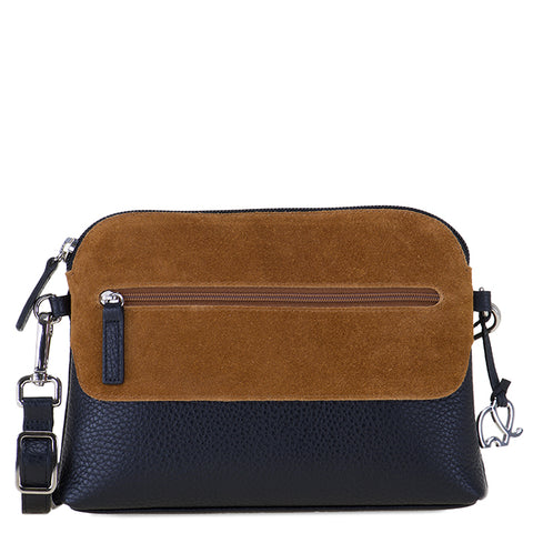 Mywalit Pompei zip top crossbody