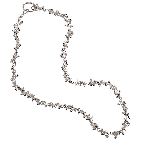 Signature granulation necklace
