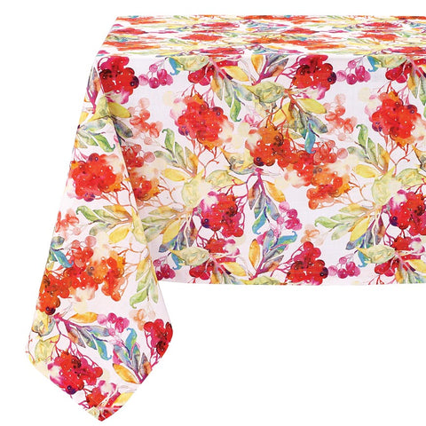 Bodrum Napa cotton print table linens
