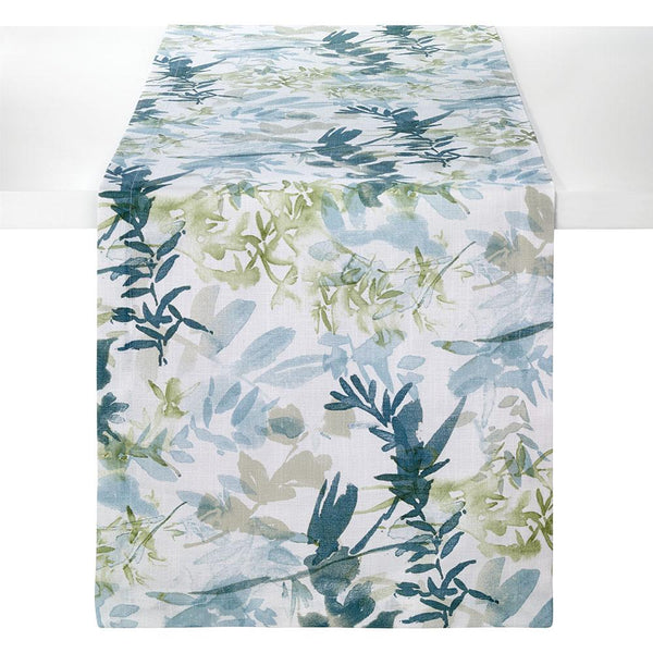 Bodrum Osaka cotton print table linens