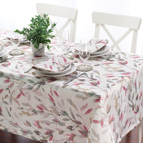 Bodrum Printemps cotton print table linens