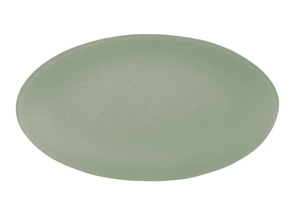Riverside Seaglass oval recycled glass platter