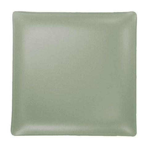 Seaglass square recycled glass platter