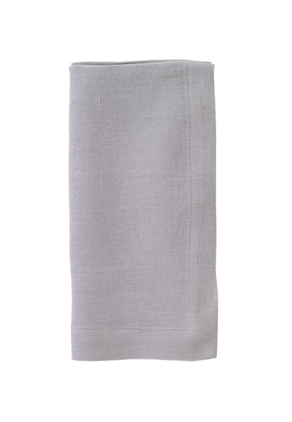 Bodrum Riviera stone-washed linen napkins, set of 4