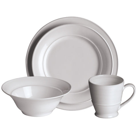 Simon Pearce Cavendish 4-piece setting with cereal bowl