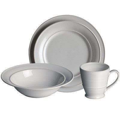 Simon Pearce Cavendish 4-piece setting with pasta bowl