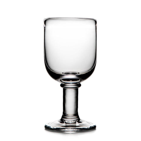 Simon Pearce Essex wine glass