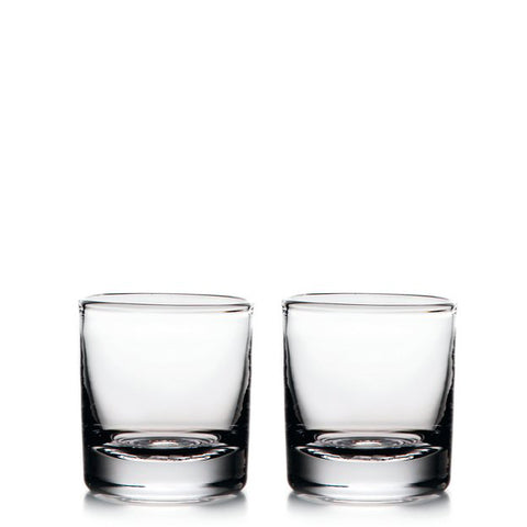 Simon Pearce Ascutney double old fashioned glass, gift-boxed set of 2
