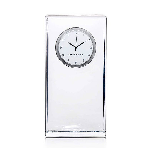 Simon Pearce Woodbury tall desk clock